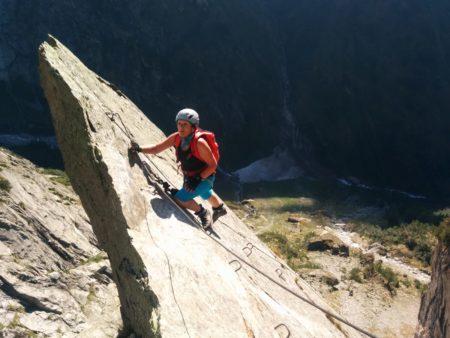 Klettersteig Baltschiedertal