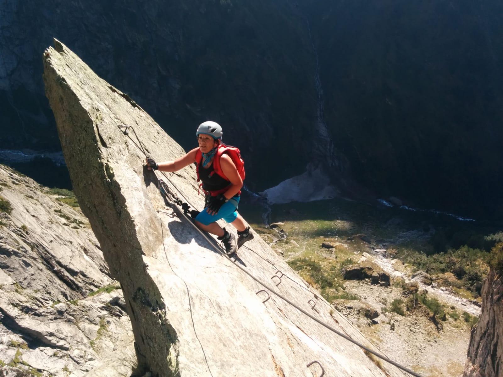 Klettersteig Chamonix : Klettersteig baltschiedertal wiwanni mit simon schmid